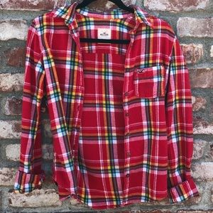 Hollister cozy flannel